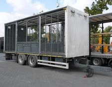 livestock trailer TRANSPORT OF ANIMALS/BIRDS/ HEN/18 T KONAR JG
