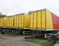 WIELTON isothermal trailer TRAILER PC-2 ISOTHERMAL CONTAINER BOX