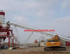 Constmach concrete plant FIXED TYPE CONCRETE BATCHING PLANT 160 m3h READY TO DELIVERY