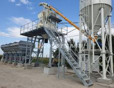 Constmach concrete plant STATIONARY 60 FULL AUTOMATIC GALVANISED CONCRETE FACTORY
