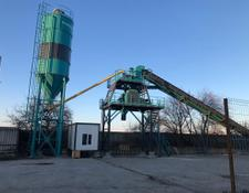 Constmach concrete plant 60 m3/h STATIONARY CONCRETE BATCHING PLANT, 2 YEARS WARRANTY | T