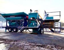Constmach concrete plant 30 m3 PORTABLE CONCRETE BATCHING PLANT, MOST ECONOMIC CONCRETE P