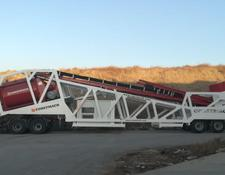 Constmach concrete plant Mobile 120 Full Automatic Mobile Concrete Plant Ready At Stock