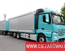 Mercedes-Benz tilt truck Actros 2542 Set for steel transport , E6 , Retarder + KRONE trai