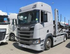 Scania car transporter R450 , E6 , 4x2 , Low Deck , 29,000km , EuroLohr , LIKE NEW