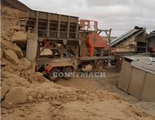 Constmach crushing plant 250 tph CAPACITY MOBILE CRUSHING AND SCREENING PLANT