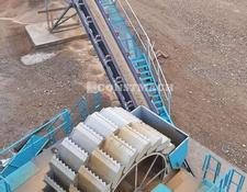 Constmach crushing plant New System Bucket Wheel Washer For Sale