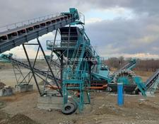 Constmach crushing plant 200-250 tph CAPACITY SAND SCREENING AND WASHING PLANT