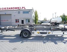 ACKERMANN container chassis trailer Z-EAF 11/7 , BDF , chassis 7,2m , air suspension , BPW , 2 units