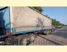 Leci TRAILER curtain side semi-trailer SR3E