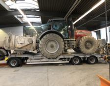 Humbaur low loader trailer 3-achser