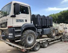 Humbaur low loader trailer HTD308525